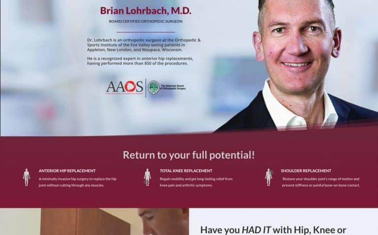 Brian Lohrbach MD