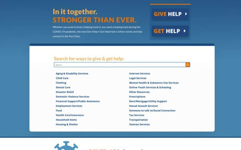 Give Help Get Help Hub - United Way Fox Cities