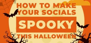 How to Make Your Social Profiles Spooky This Halloween [Infographic]